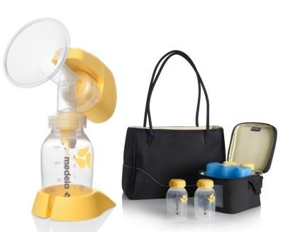 Medela Mini Electric Breast Pump Citystyle Bag Set Kedaivitaminku